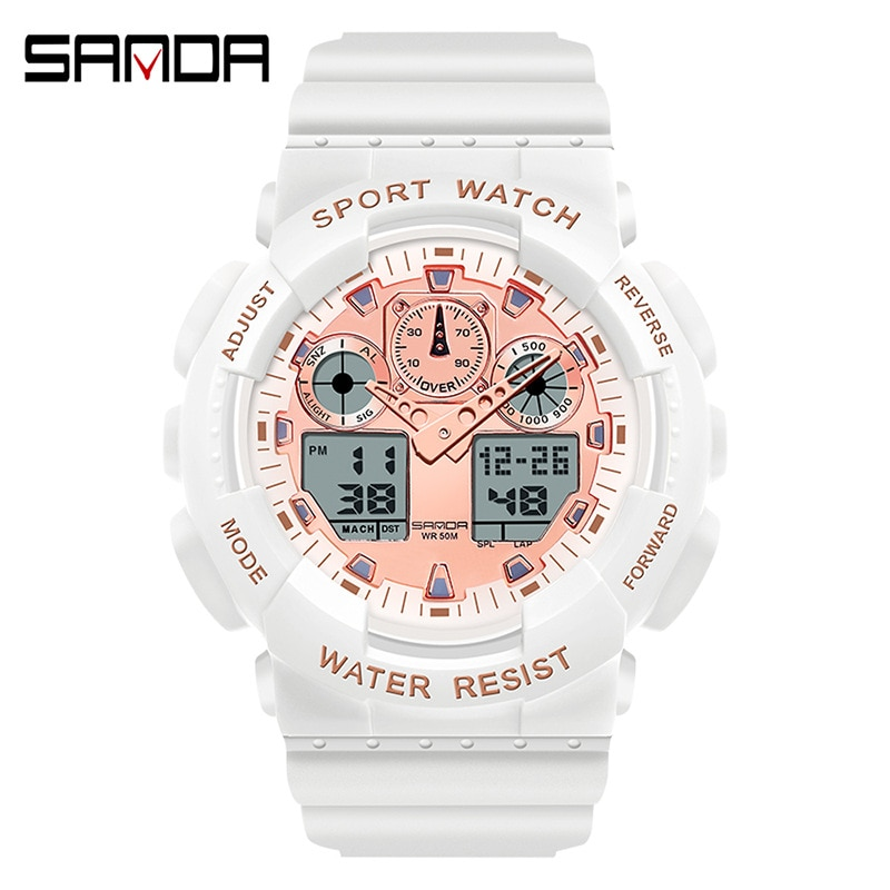 Electronic watch waterproof women's watch sports watch LED watch women's watch electronic watch enlarge