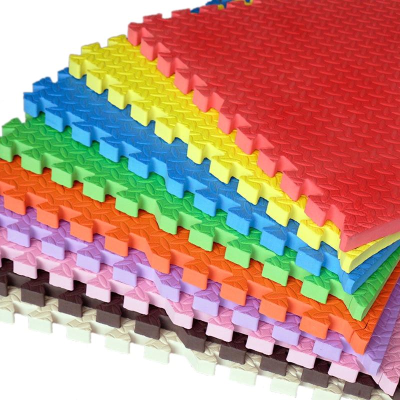 16 шт. детская пена EVA 30*30*1 см головоломки игровой коврик/Детские игрушки мягкий ковер взаимосвязанных тренировки пол для детей плитки