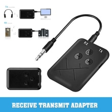 2-in-1 3.5mm AUX Adapter Wireless bluetooth Transmitter Audio Receiver Stereo Audio Chargable For TV