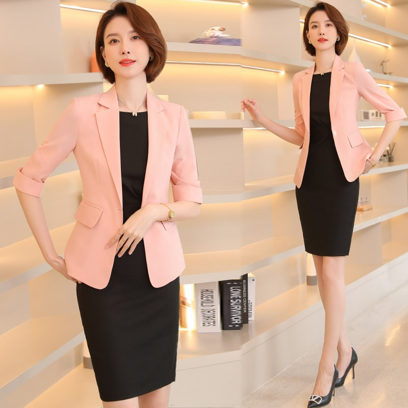 High-End Small Suit Skirt Women's 2021 New Spring and Summer Business Wear Socialite Elegant Busines