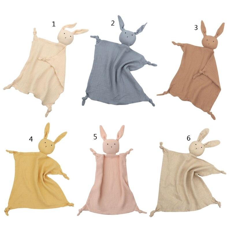 Soft Newborn Baby Sleeping Dolls Kids Fashion Sleep Toy Soothe Appease Towel Bib