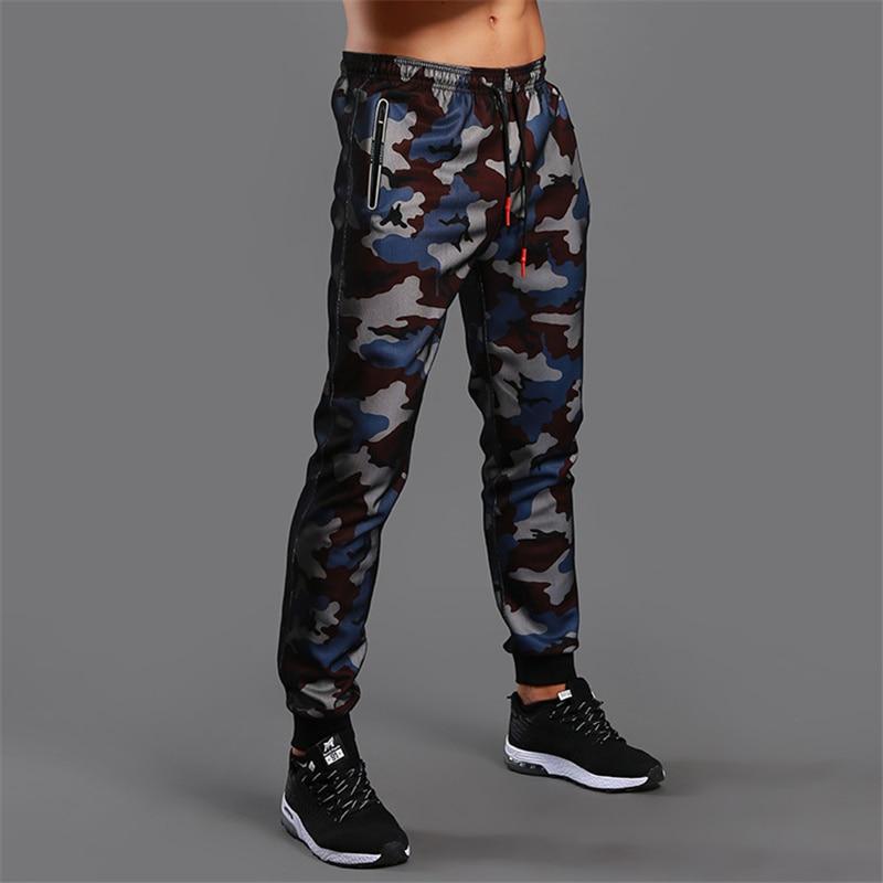 2021 камуфляжные штаны для бега, мужские спортивные Леггинсы для фитнеса, трико для тренажерного зала, Джоггеры для бодибилдинга, спортивные штаны для бега   Мужская одежда   АлиЭкспресс