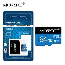Free adapter Newest Moric Micro SD Card  Memory/mini TF Card  64GB 32GB 16GB 8GB Class 10 256GB 128G