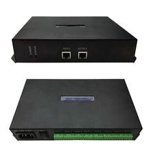 Contrôleur en ligne Programmable rvb contrôleur de Module de Pixel Led polychrome 8ports 300000Pixels Ws2801 Ws2812b