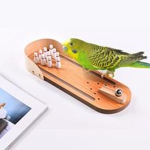 Parrot Wood Puzzle Training Toy Bowling Toy Bird Supplies Parrot Training Toy Pet Desktop Toys Wholesale Accessories #3