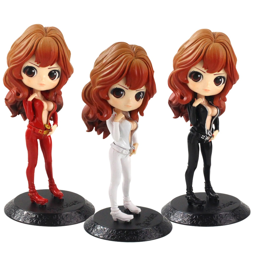 16 см QPosket фигурка Lupin 3 Q Posket Rupan Sansei Mine Fujiko ПВХ фигурка Коллекционная модель игрушки куклы Подарки для детей