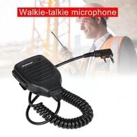 portable handheld walkie talkie microphone suitable speaker bf888s for baofeng walkie talkie uv 5r f0h9