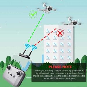 Image 4 - Усилитель сигнала Mavic Air 2s Yagi, усилитель сигнала для пульта дистанционного управления DJI Mavic Air 2/Mavic Mini 2, аксессуары для расширения диапазона