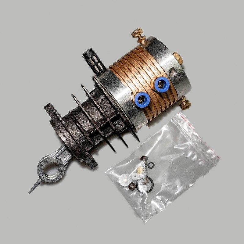 ضاغط هواء عالي الضغط 30 ميجا باسكال ، مضخة هواء كهربائية 40 ميجا باسكال ، رأس أسطوانة الضغط العالي