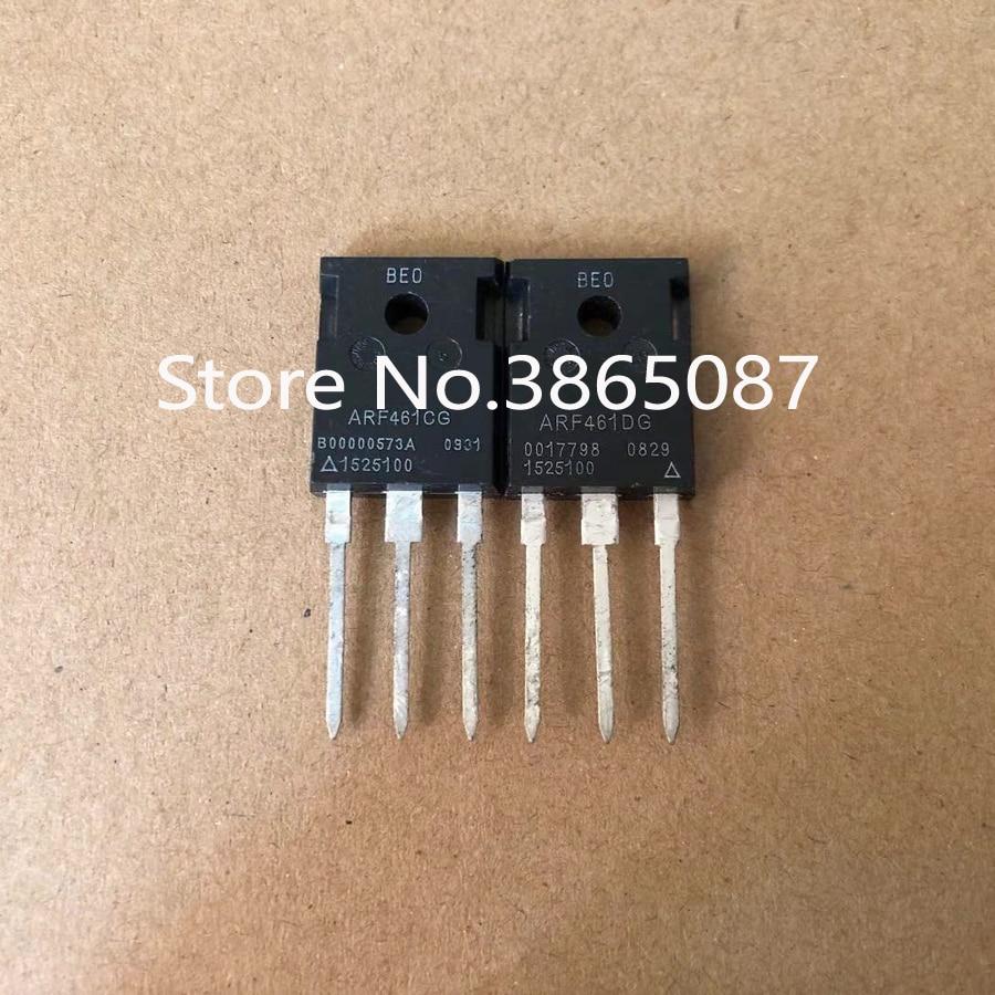 1 Uds. ARF461CG y 1 Uds. ARF461DG a-247 ARF461C ARF461D TRANSISTOR de potencia MOSFET RF MOS tubo FET 2 uds./lote ORIGINAL nuevo
