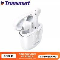 Tronsmart Onyx Ace Беспроводные Bluetooth 5.0 наушники с аудио-чипом Qualcomm с Продвинутой Системой Шумоподавления и 24 часами проигрывания музыки