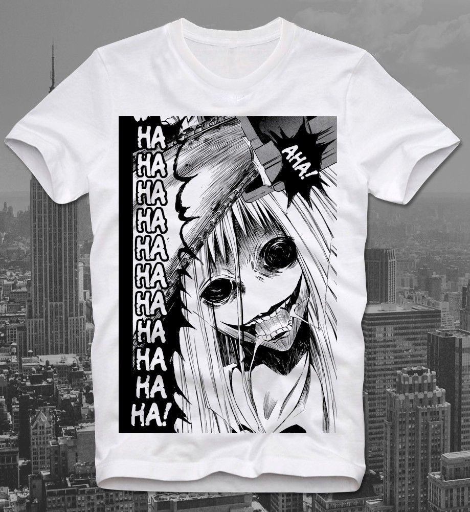 Camiseta señora Snowblood Anime Mange Japón Horror japonés Gonnesa Junji Ito Uzumaki-Mostrar camisetas de manga de título original