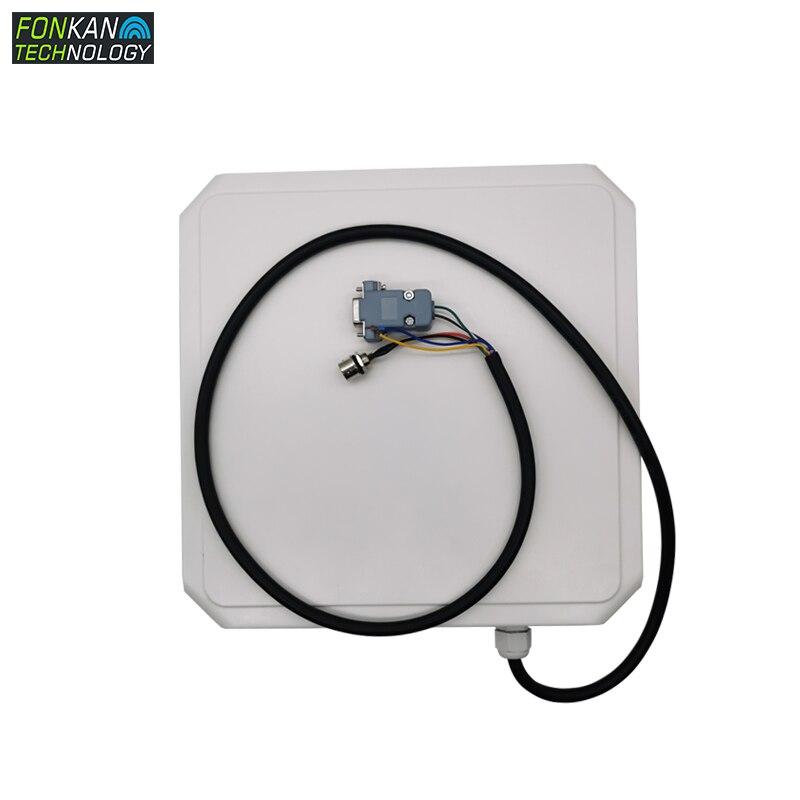 FONKAN uhf RFID интегрированный считыватель RS232 modbus 485RTU/TCP PLC ISO-18000-6C связи для промышленной производственной линии