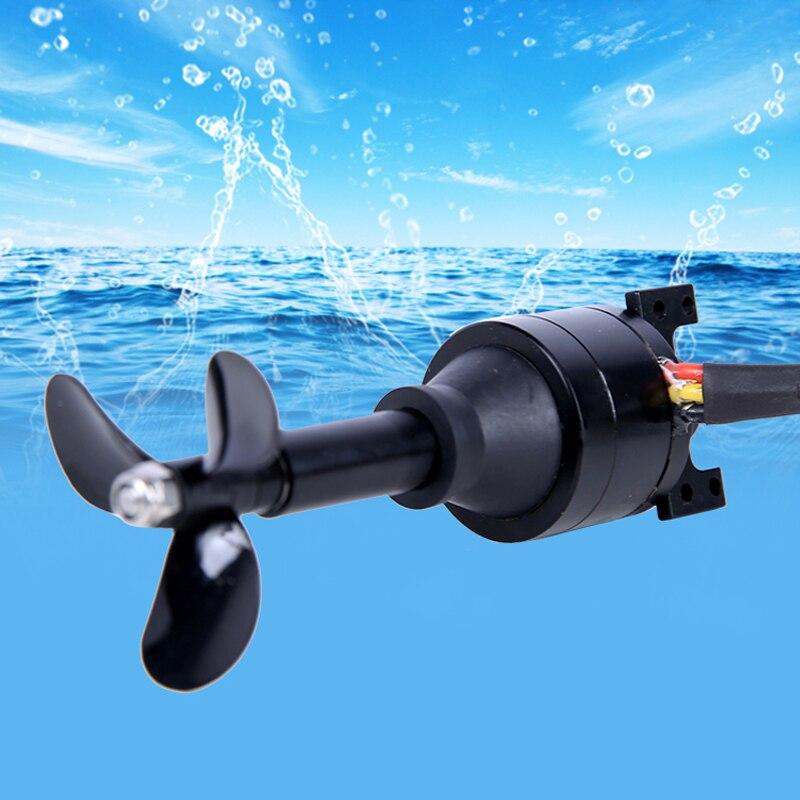 12V 24V Underwater Thruster Waterproof Motor 3 Blades Carbon Fiber CW CCW Propeller for DIY ROV Robot Model Boat Submarine Parts