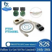 2020 VAG TACHO USB 5.0 إصدار USB OBD2 أداة تشخيص السيارة FTDI FT245RL Vag Tacho 5.0 أحدث إصدار MCU 24C32 24C64