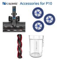 Accessories for Proscenic P10 Vacuum Cleaner HEPA Filter Brush Dust Bin