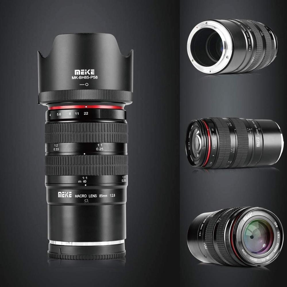 MEKE 85mm f 2,8 Volle Rahmen 1 1,5 Macro Objektiv für Fuji X-T20 X-T2 X-T1 X-T10 X-Pro2 X-A2 X-E2 X-E2S X70 X-E1 X-M1 XPro1 Kameras
