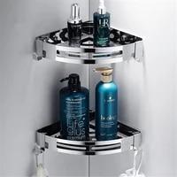 Etagere dangle de douche a 3 niveaux  support de douche pour salle de bain  shampoing  support de rangement de cuisine  trepied de cuisine sans poincon