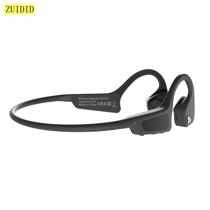 G18 Wireless Bluetooth 5.0 Bone Conduction Earphones Outdoor Sports Waterproof Long Standby Time Hea