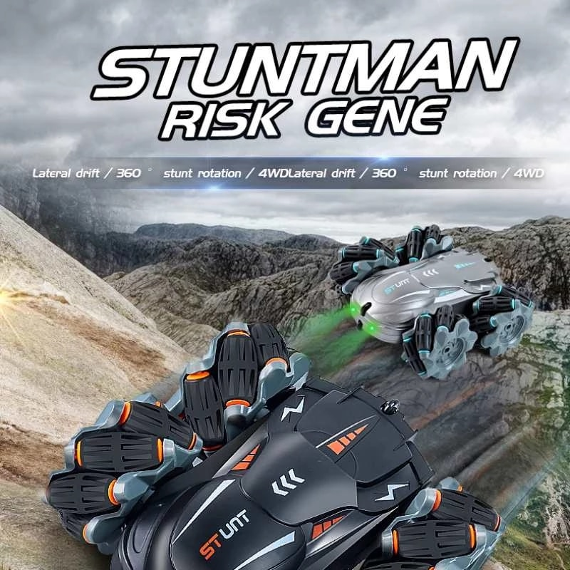 2021 New 4WD RC Car 2.4G Drift Stunt 360 Degree Rotating Remote Controller Climbing Off-Road Racing