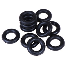 10 Uds carrete de bobina rueda de fricción para máquina de coser Singer accesorios de costura alrededor de la bobina anillo de goma o-ring