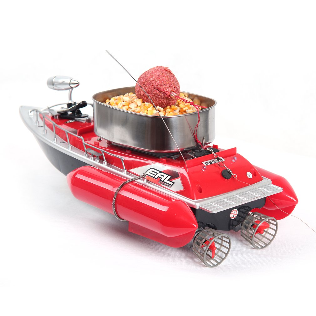 EAL T10 RC Boat Intelligent Wireless Electric Fishing Bait Remote Control Boat Fish Ship Searchlight