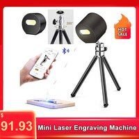 Creative 1.6w Laser Engraver Diy Portable Adjustable Laser Engraving Machine for Leather Wood Plastic Paper Mobile Phone APP