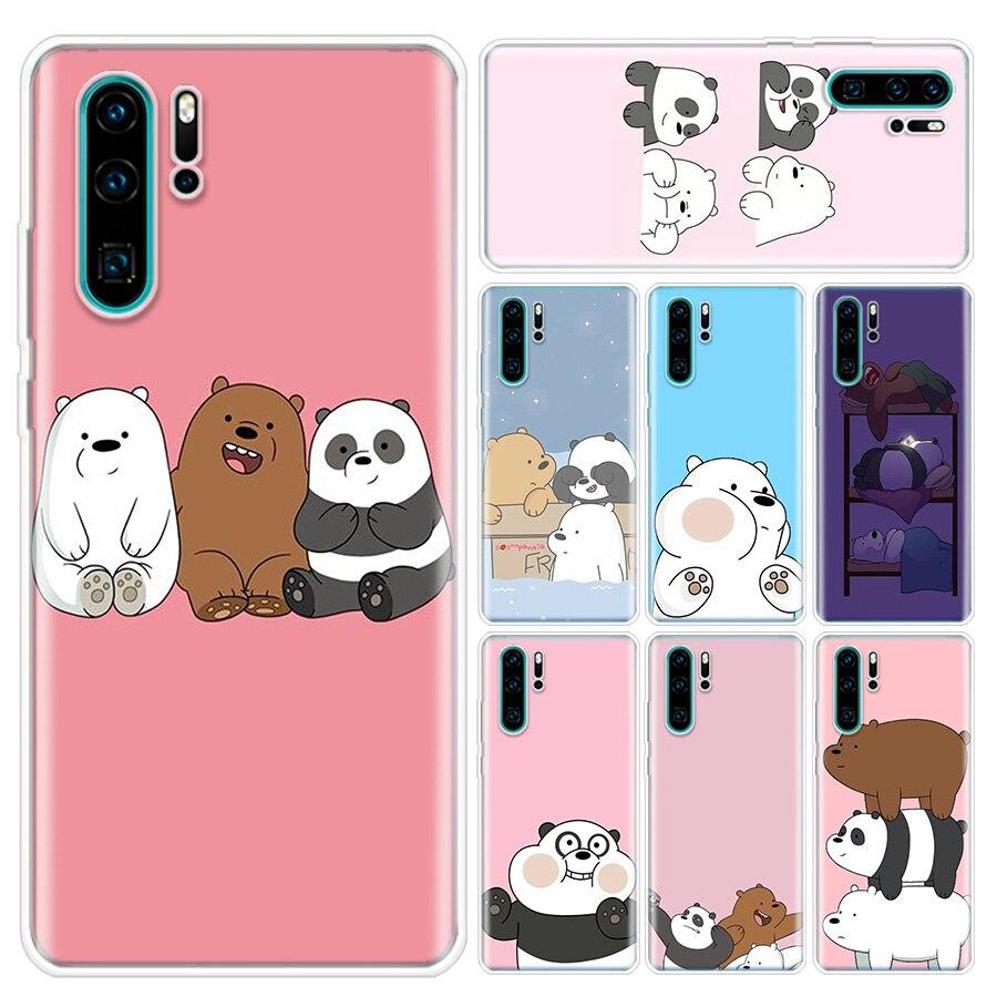 Чехол для телефона с тремя маленькими медведями ривердейла для Huawei P10 P20 P30 P20Pro P30Lite P30Pro P Smart Z Mate 10 20 10Pro
