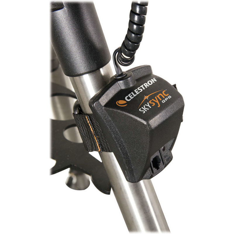 Celestron SkySync Telescope GPS Accessory Automatically Updates your Telescope with 16-channel GPS Data, Time, and Date