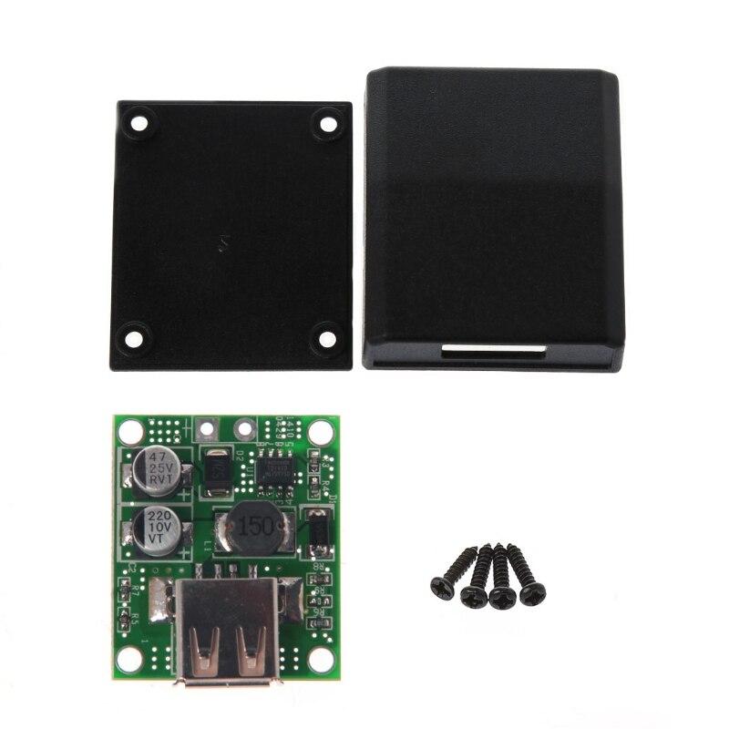 Yuanmaoao-Panel de alimentación Solar, Cargador USB, regulador de voltaje, 5V, 2A, Compatible con la mayoría de teléfonos inteligentes y tabletas, 1 Uds.