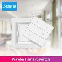 Aqara     interrupteur intelligent Opple Zigbee 2020  6 gangs  Version internationale  avec application Aqara  Apple HomeKit  aucun cablage requis  3 0