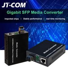 1Gb SFP fibre au convertisseur de médias à fibers optiques RJ45 commutateur de fibers SFP 1000Mbps avec Module SFP Compatible Cisco/Mikrotik/Huawei