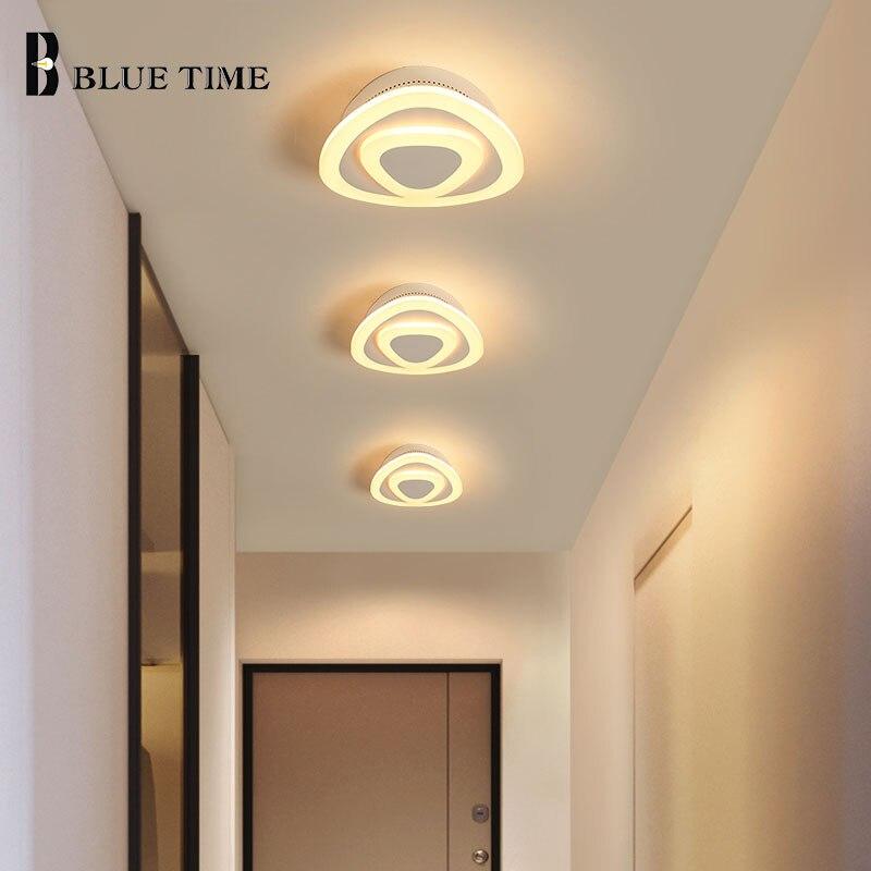 Blue Time новый современный светодиодный потолочный светильник для гостиной, коридора, спальни, кухни, фойе, потолочные светильники из акрила и ...