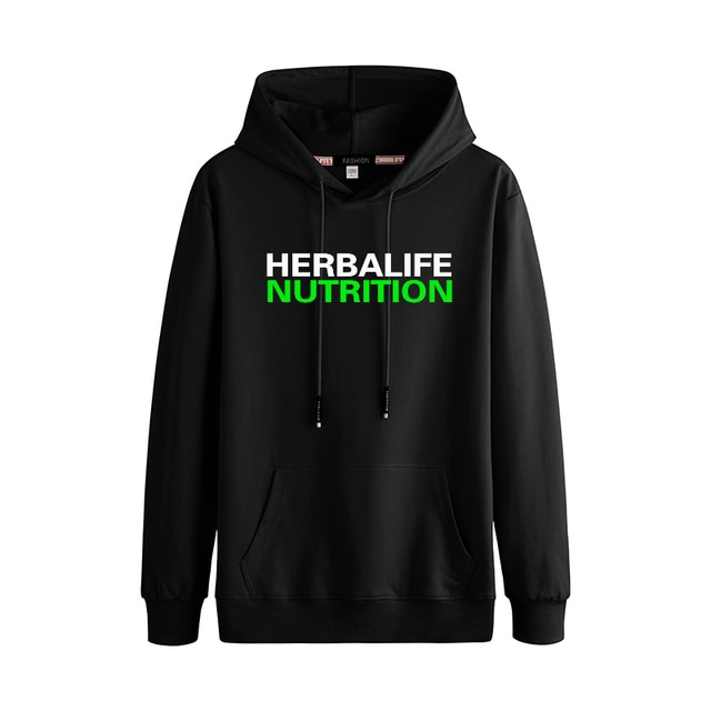 herbalife nutrition Autumn And Winter Fashion Trend Casual Stitching Couple Hooded Sweater