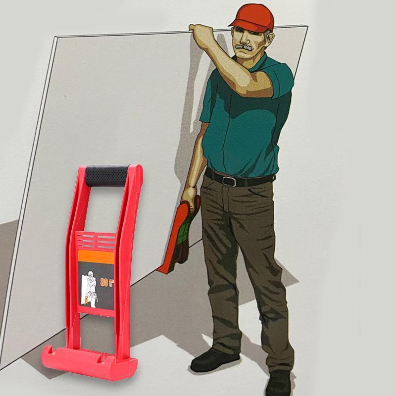 لوحة عملاقة الناقل التعامل مع لوحة خشبية 80 كجم أداة تحميل لوحة الناقل ذو طيات دريوال مقبض الخشب الرقائقي المفرش للحمل
