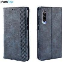 Luxury Retro Slim Magnetic Leather Flip Cover For Xiaomi MI 9 / 9SE / 9 lite Case Book Wallet Card S