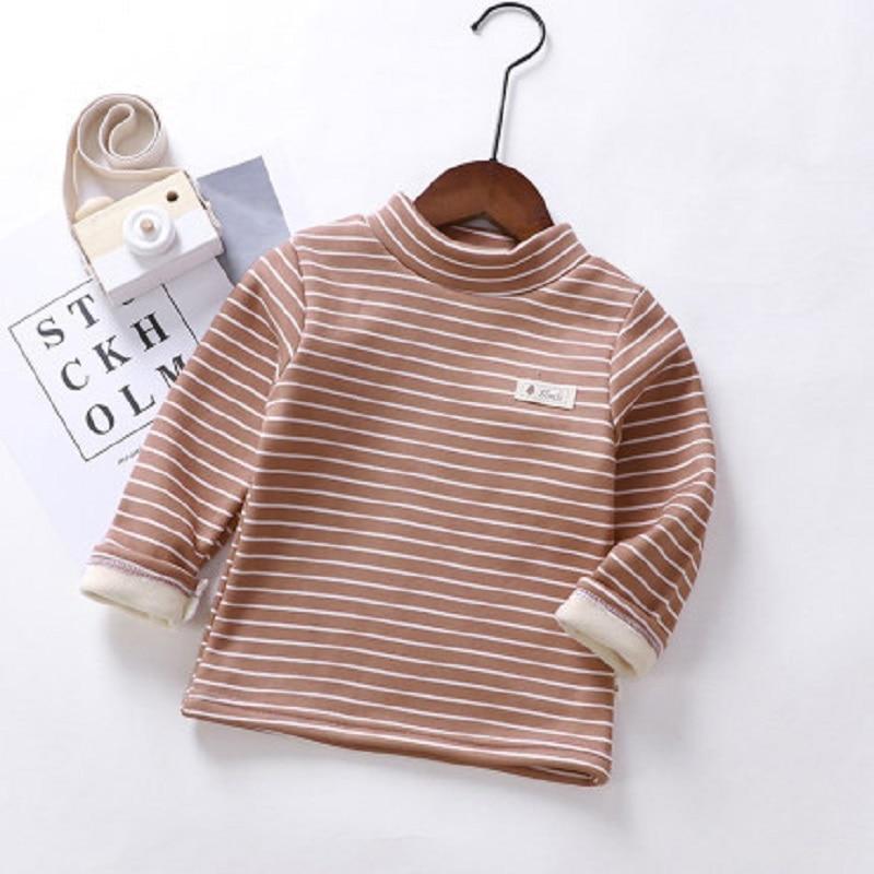 Купить с кэшбэком Toddler boys girls Sweatshirts Warm Autumn Winter Coat Sweater Baby Long Sleeve Outfit Tracksuit kids shirt cheap clothes 2020