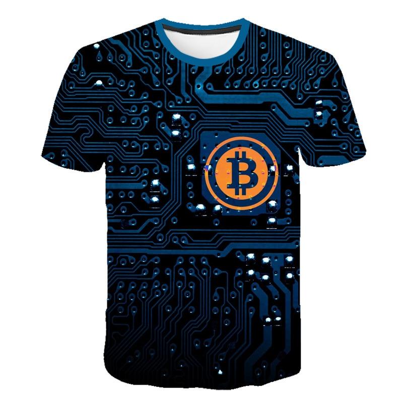 Bitcoin RevolutIon Shirt Bitcoin CRYPTO SHIRT - CRYPTO CURRENCY T-SHIRT Cool Casual Pride T Shirt Men Unisex Fashion 3D T Shirt недорого