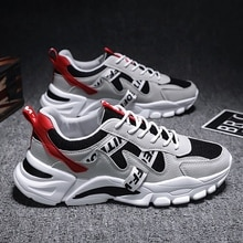 New Couple Letter Pattern Jogging Shoes Low Cut Mesh Breathable Sports Casual Shoes Men and Women Wa