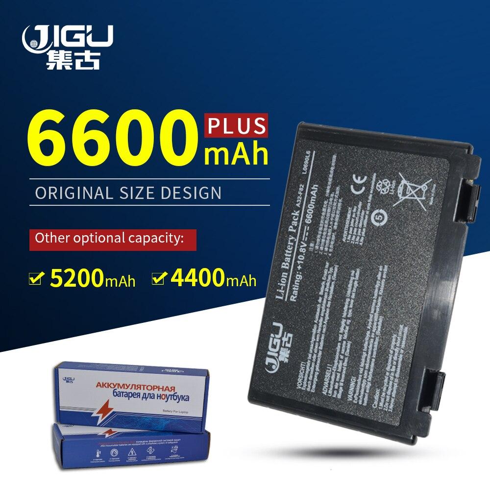 JIGU batería nueva A32-F82 A32-F52 para Asus K40 K40E F82 F83S K40E...