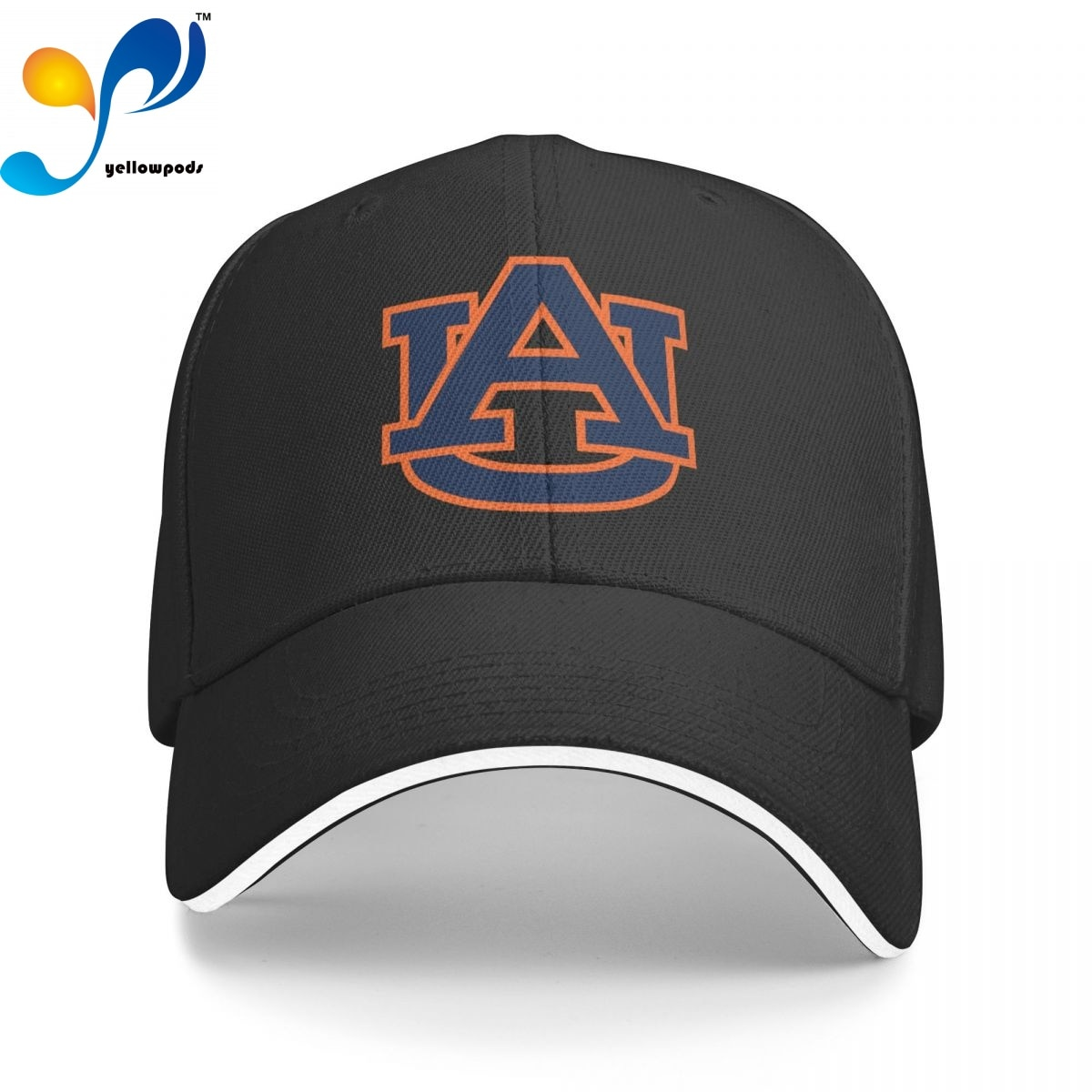 Auburn Кепка-тракер, бейсболка для мужчин, бейсболка с клапаном, мужские шапки, кепки с логотипом