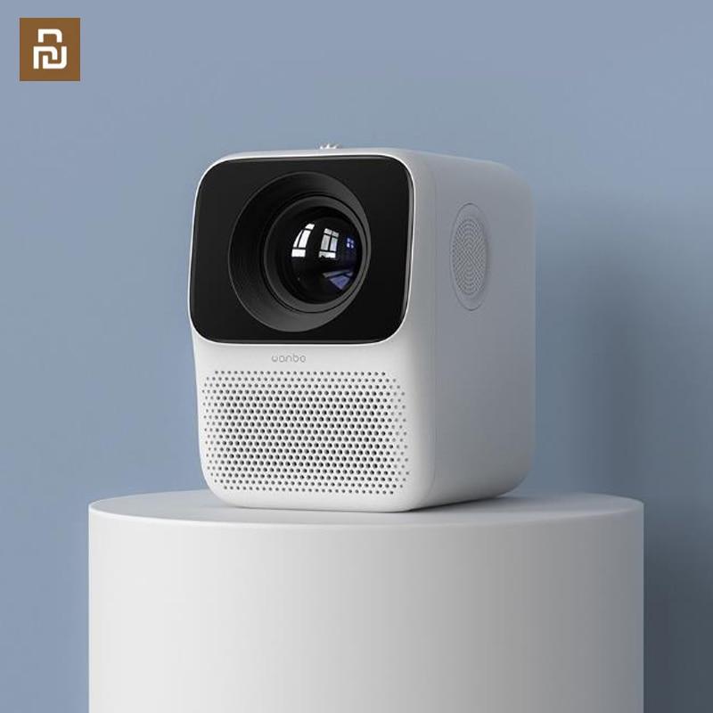 Xiaomi mijia Wanbo T2 t2pro t2s proyector hogar portátil dormitorio inteligente home theater Oficina cerrado máquina óptica