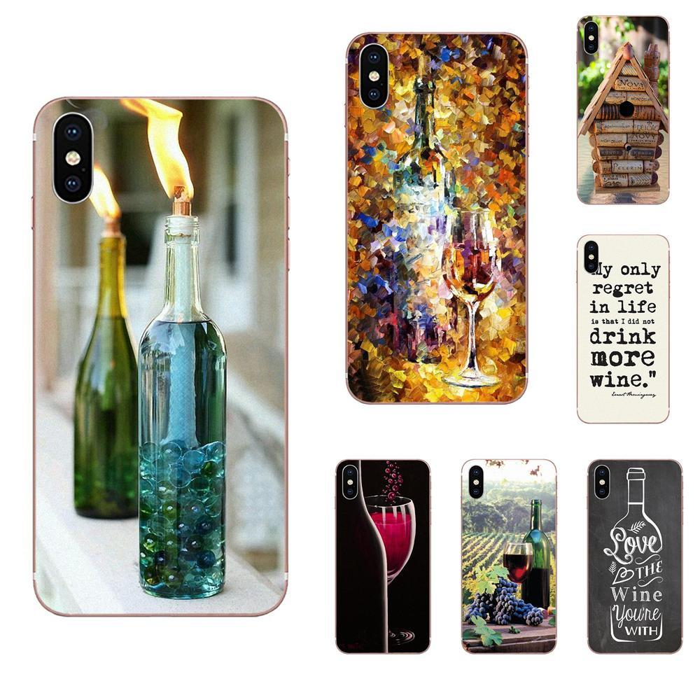 En venta teléfono caso moda vino arte para Huawei Nova 2 V20 Y3II Y5 Y5II Y6 Y6II Y7 Y9 G8 G9 GR3 GR5 GX8 primer 2018 de 2019