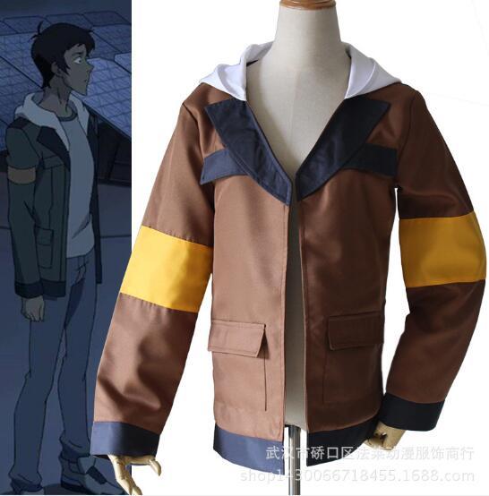 Voltron legendario defensor Lance Cosplay traje Lance chaqueta de capucha de Halloween carnaval Top abrigo