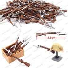 Légion bloc militaire chiffres armes soldat argent épine couteau pistolet bricolage blocs de construction modèle Moc armée WW2 enfant noël jouets