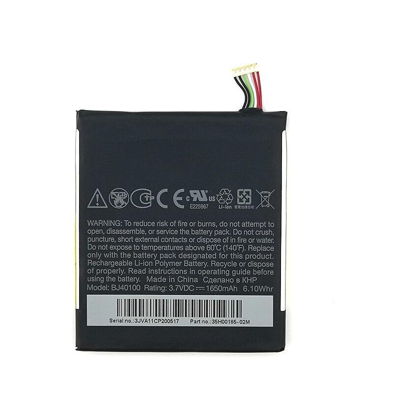 Batería 100% Original 1650mAh BJ40100 para teléfono móvil HTC One S Ville...