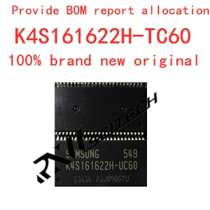 100% новый памяти гранулы K4S161622H-TC60 тсоп флэш-памяти DDR SDRAM (синхронное динамическое ОЗУ маршрутизации обновить память обеспечивает BOM распределения