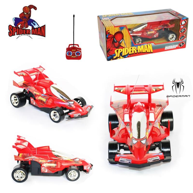 Автомобиль с дистанционным управлением Marvel «Человек-паук», игрушка R/C, беспроводной гоночный автомобиль с дистанционным управлением, подар...