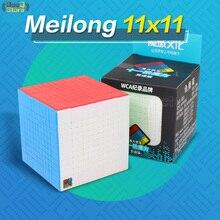 Moyu Meilong 10x10 큐브 속도 Magic11x11x11 10x10 큐브 퍼즐 Magico Cubo 11x11 전문 큐브 Stickerless 어린이 완구 들어