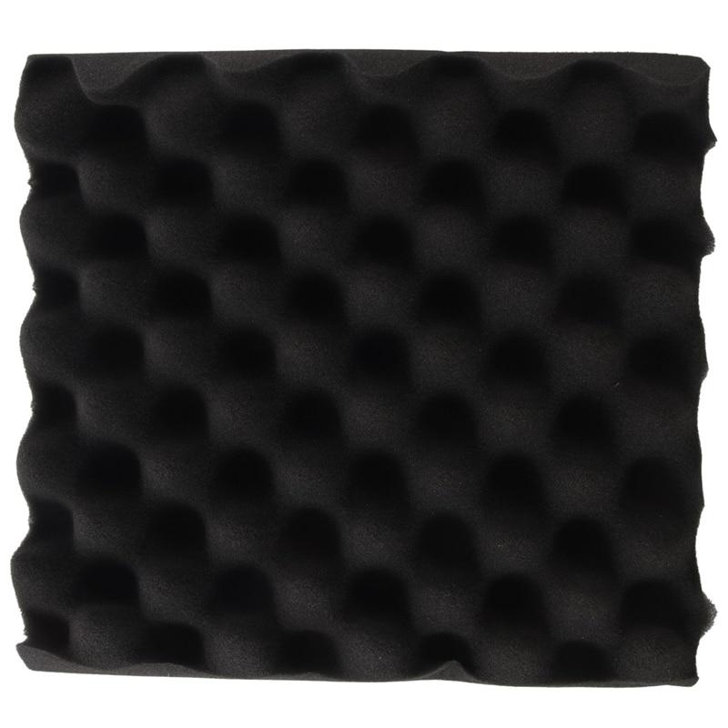 25X25X5CM sonido de espuma de aislamiento de caja de huevos estudio acústico espuma de aislamiento de sonido tratamiento huevo perfil cuña